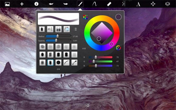 best graphic apps for iPad