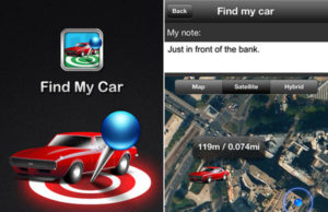 find my car app for iphone