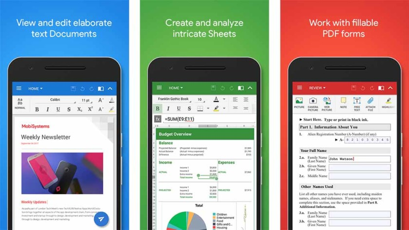 Featured: Top 10 Word Processor Apps for Android